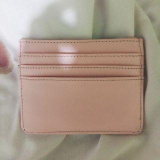 Card holder pink soft 6 slots
