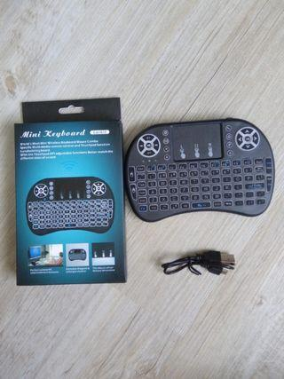 Mini wireless Keyboard with mouse pad
