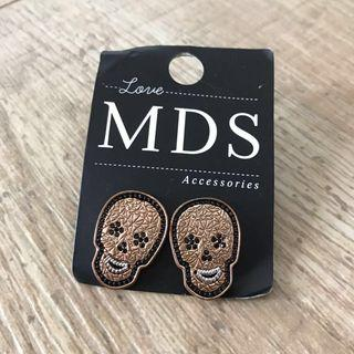 MDS skulls earstuds