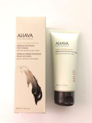 <New> AHAVA Dermud Intensive Foot Cream 死海礦物腳部滋潤修護霜