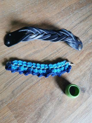 Bracelet and ring bundle all for RM10