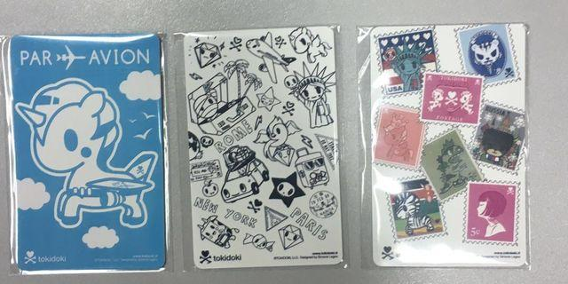 BN - Ezlink Card Tokidoki - All no load value, Expiry : 2025, Set of 3 for $31