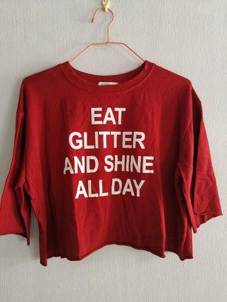 Pull and bear red top