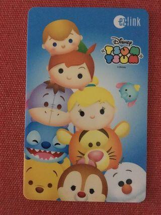 BN - Ezlink Disney Tsum Tsum Card / hv load value of $7 Expiry : 2024