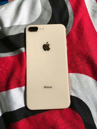 Iphone 8+ 64gb gold