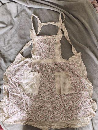 Kitchen apron floral
