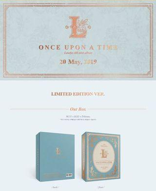 PRE ORDER LOVELYZ 6TH MINI ALBUM - ONCE UPON A TIME [LIMITED EDITION]