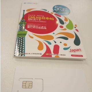 CMLink 日本8G 上網 SIM Card