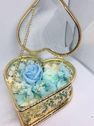 Wedding ring box for wedding or proposal