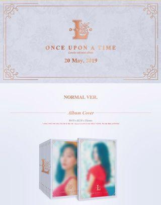 PRE ORDER LOVELYZ 6TH MINI ALBUM - ONCE UPON A TIME