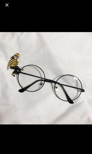 復古圓框眼鏡 無度數