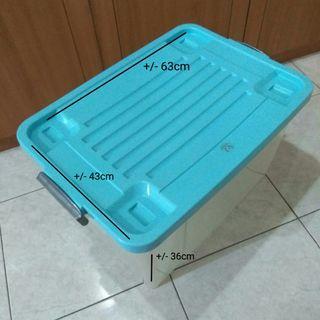 Kontainer Box/Kotak Plastik 75Lt