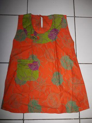 #BAPAU Dress Batik Anak