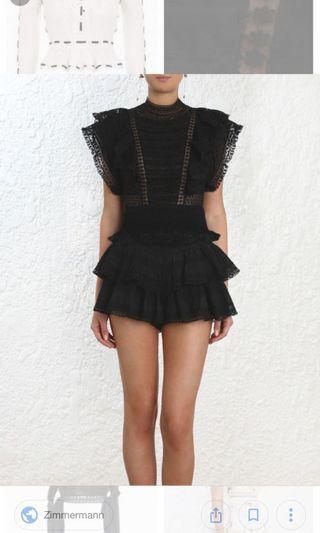 Zimmermann Juno pintuck blouse