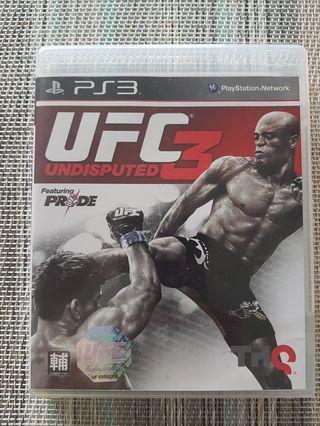 UFC 3 Undisputed PS3