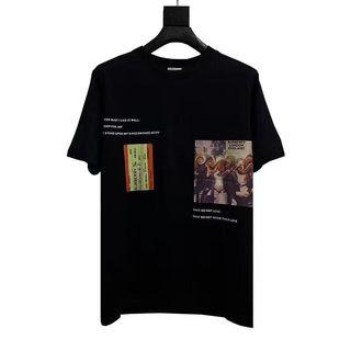 🚚 Burberry SS19 Train Ticket Tee