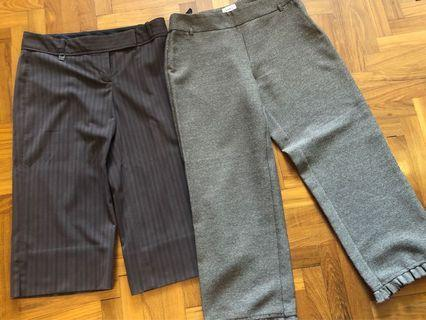 🚚 3/4 Brown Trousers