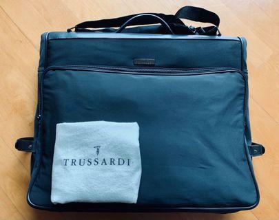 Trussardi black  Nylon garment bag/ suit carrier brand new