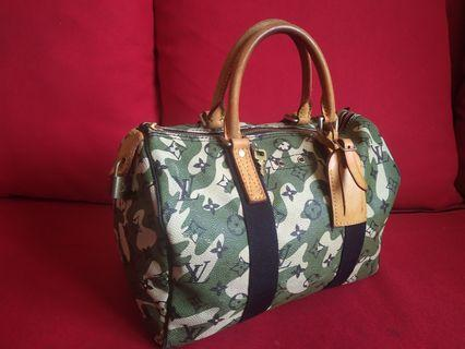 Limited Edition LV Camouflage speedy 30
