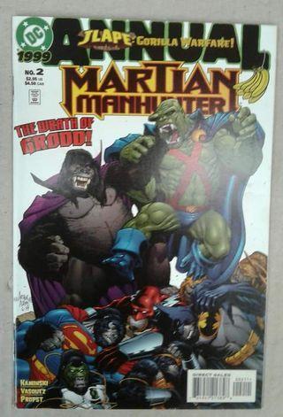 Martian Manhunter #Annual 2 ( DC Comics )