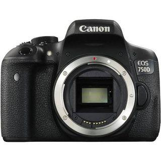 Canon 750D with two lens