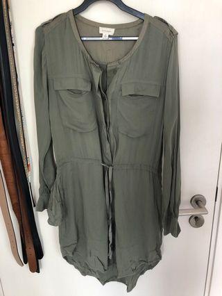 Witchery military dress Au6