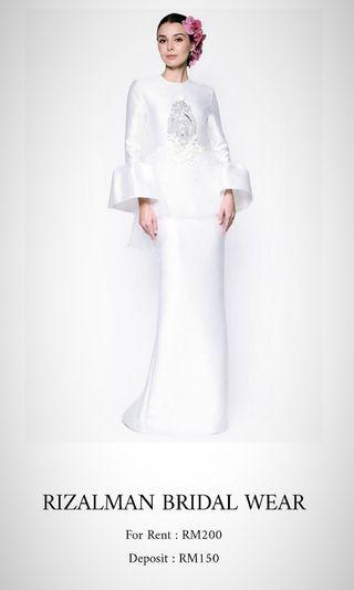 RIZALMAN BRIDAL WEAR for RENT