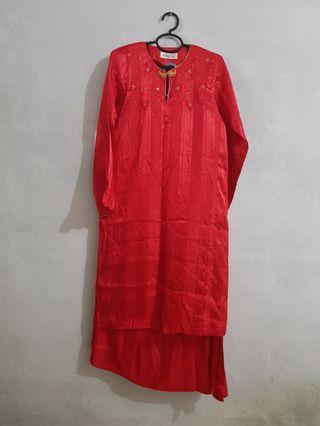 Red Baju Kurung