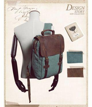 UNISOUL Canvas Patchwork male Backpack Cover Vintage bags of Women Travel Rucksack Preppy Style Daypack School