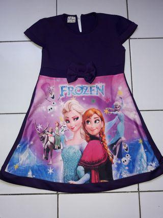 #BAPAU Dress Frozen