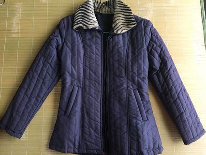 🚚 仿古豹紋保暖外套