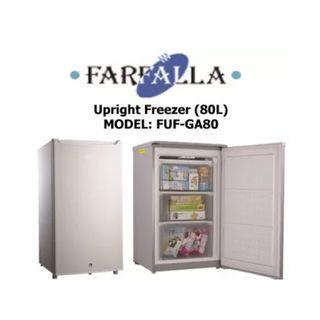 🚚 FARFALLA 80L upright freezer