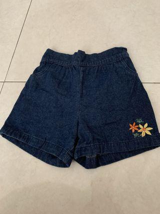 Unisex Jean Short Pant