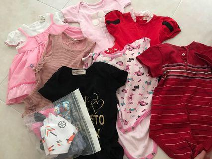 🚚 To bless: baby girl clothes 0-6mths