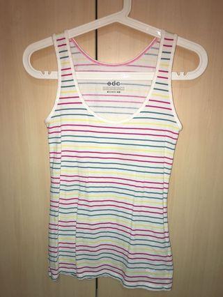 BN Esprit edc Striped sleeveless tank top