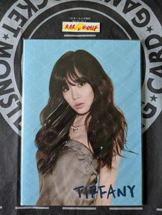 [KPOP] Girl's Generation Tiffany Notebook (Official)