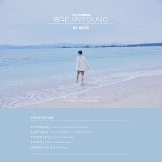 [2nd Batch] BAE JINYOUNG 1ST PHOTOBOOK RE-ROUTE