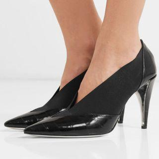 Givenchy Croc-effect leather and elastic pumps (NP)