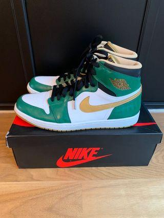 US 11.5 : Jordan 1 OG High Celtic Green