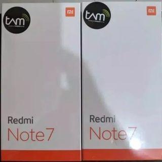#Xiaomi #Redmi Note 7 Ram 4/64 GB Garansi Resmi TAM - Hitam