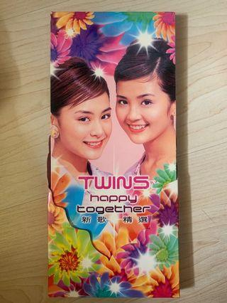 Twins CD Twins Happy together 新歌+精選