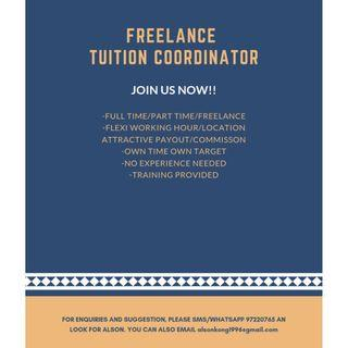 TUITION COORDINATOR (PART TIME)