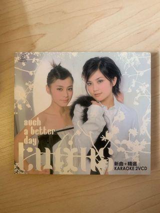 Twins Such A Better Day 新曲+精選卡拉OK 2VCD