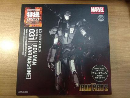 歡迎合理議價 海洋堂 山口式 Revoltech 031 War Machine 戰爭機器 mk2 Ironman2(不是shf mafex mezco hasbro marvel legends select star wars the black series comicave studio Figma NECA)