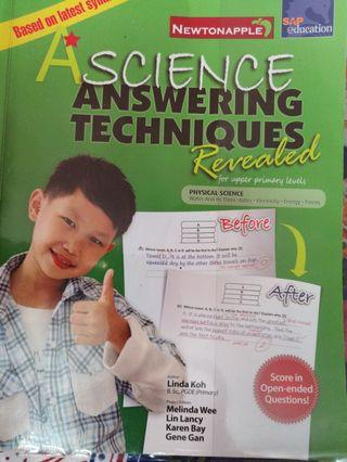 PSLE science answering technique