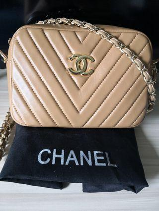 🚚 Leather Chanel Sling Bag
