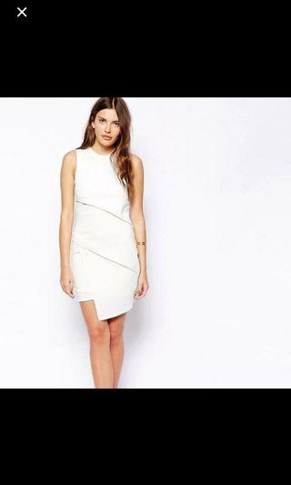 Asos White Shift