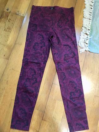 Raya ready red pants