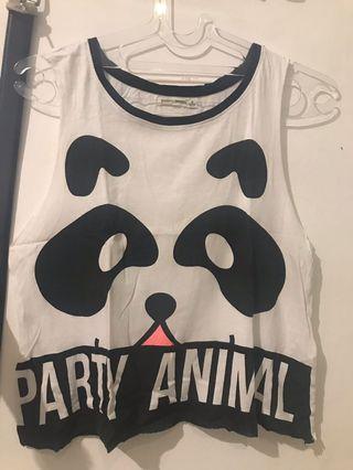 Bershka Panda Tank top