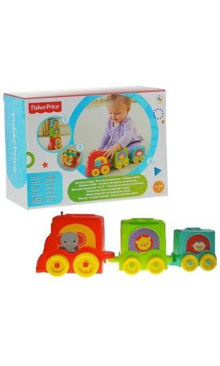 Fisher price stack and roll Choo Choo stacker